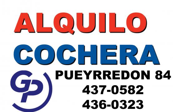Entre Rios 638 – Cochera